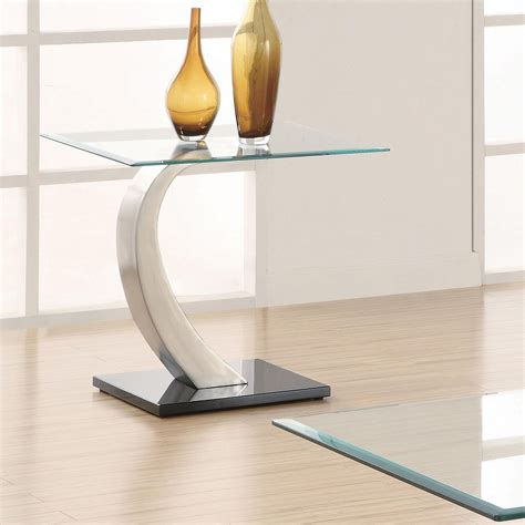 modern metal end table end tables