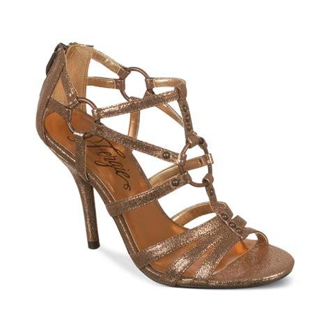 fergie sandals fergie dress sandals in brown lyst