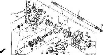 Honda Recon 250 Rear Axle Diagram Honda Recon Rear Axle Diagram Car Interior Design