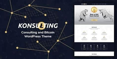 themeforest bitcoin themeforest konsulting v1 1 consulting bitcoin
