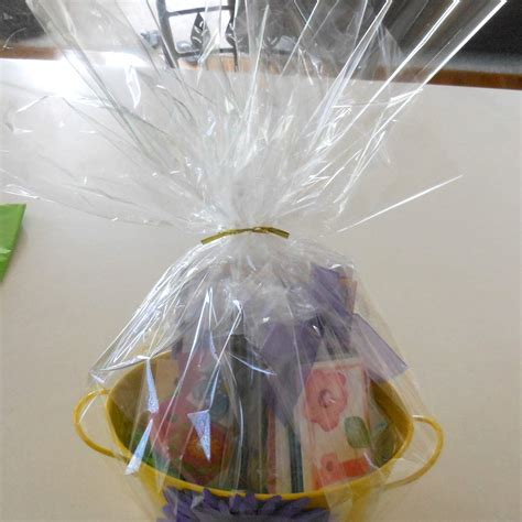 clear wrap for gifts gift wrapping clear cellophane roll gift basket arts and