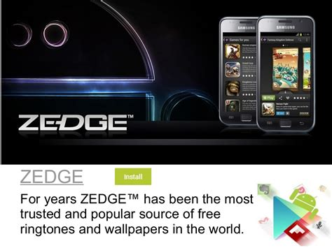 most downloaded android zedge for years zedge has