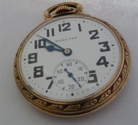 10k gf hamilton 992b railroad pocket arlex jewelry