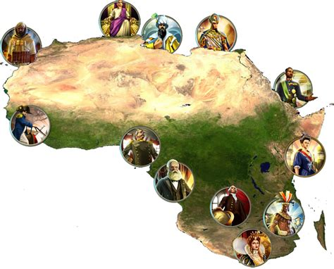 civ5 africa map civ 5 scramble for africa strategy and achievement guide