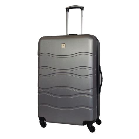 grote abs l benzi abs koffer wave l zilver luggage 4 all