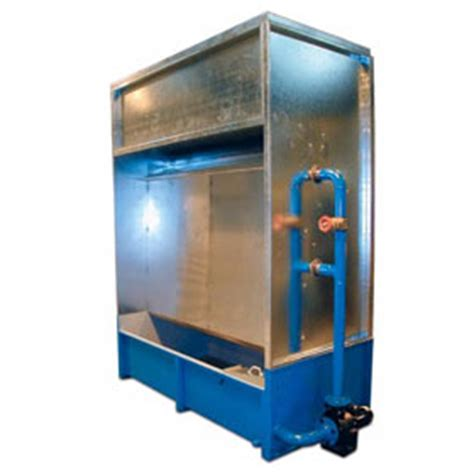 design spray booth water wash spray booths water wash spraying booth