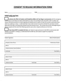 release of information consent form template sle release of information form 12 free documents in pdf