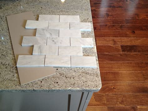 limestone backsplash tile loft cottage marble backsplash preview