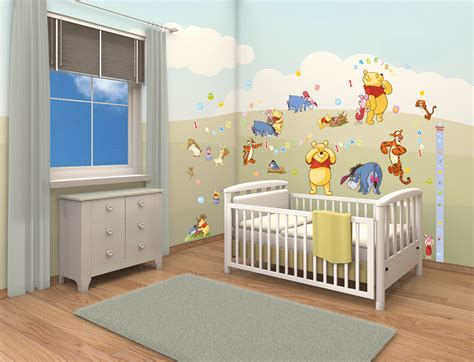 winnie the pooh bedroom wallpaper disney winnie the pooh stickers wall murals ireland