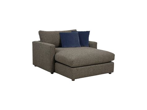 two arm chaise bassett living room two arm chaise 2611 clfc davis