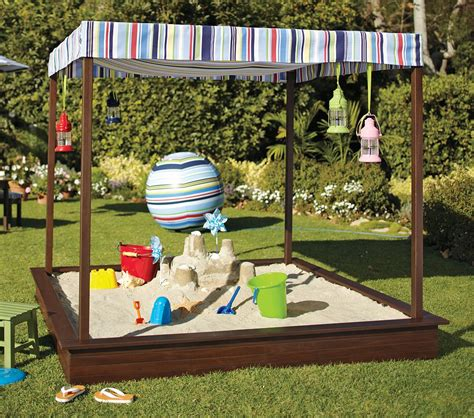 backyard sandpit iheart organizing may featured space outdoors sandbox