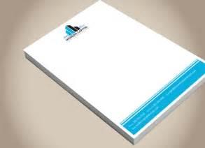 modern capital solutions letterhead design commercial