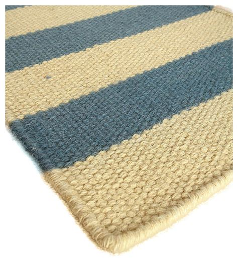 Wool Berber Area Rug Isle Of Palms Wool Berber Stripe Rug Transitional Area Rugs By Bliss Home Design