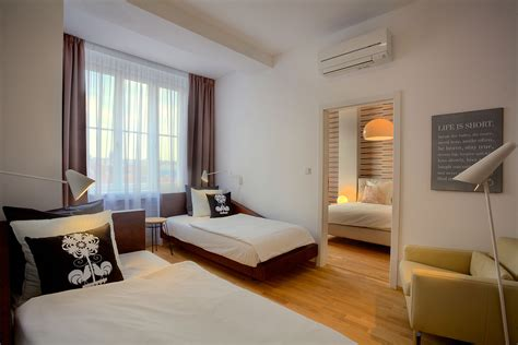 Bedroom With by Three Bedroom Balcony Apartment Prague 1 Town
