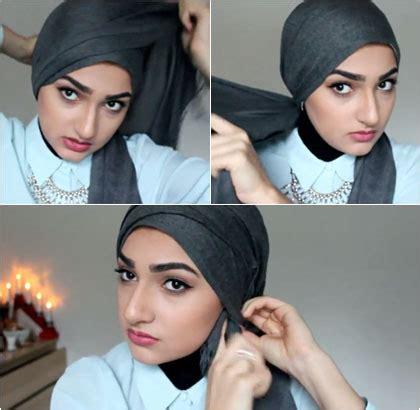 tutorial hijab turban tanpa jarum tutorial hijab turban simple tanpa jarum ala ascia akf