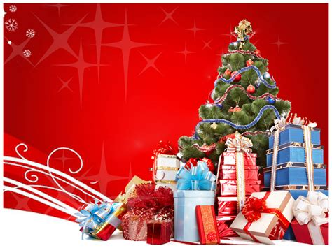 merry christmas powerpoint template ppt slide templates