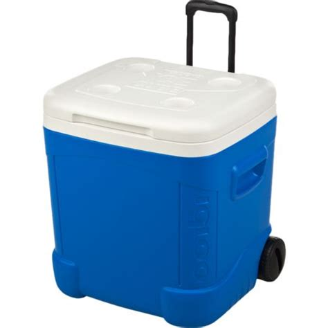 igloo ice cube roller cooler igloo 60qt ice cube roller cooler