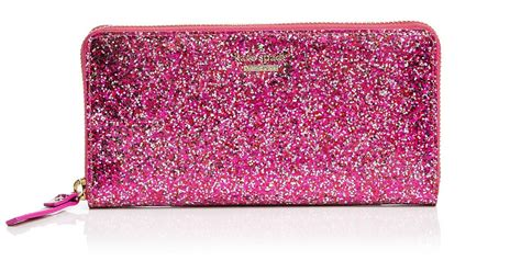 Dompet Kate Spade Original Katespade Wallet Gold Box kate spade pwru4540 glitter bug zip wallet multi pink nwt in box ebay