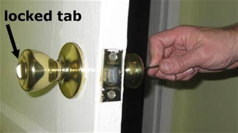 unlocking a bathroom door easy illustrated instructions on how to unlock the