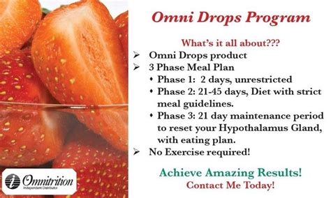 omni weight loss omnitrition drops program i lost 98 pounds www