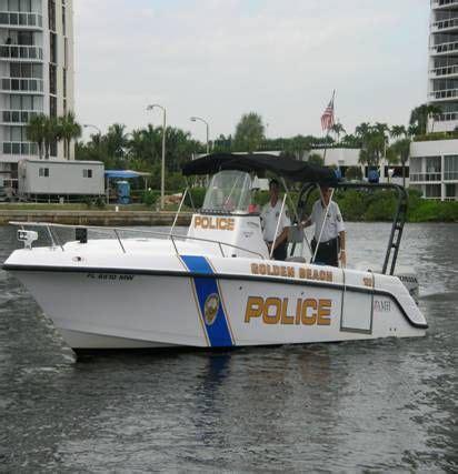 florida marine patrol boats golden beach police department marine patrol unit