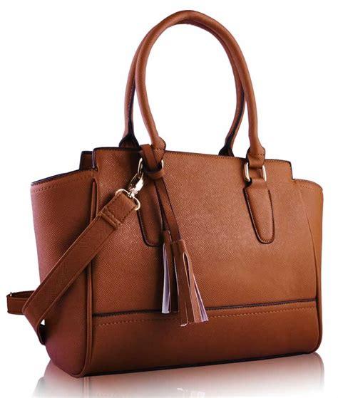 Tote Bag Brown wholesale brown tassel grab tote bag