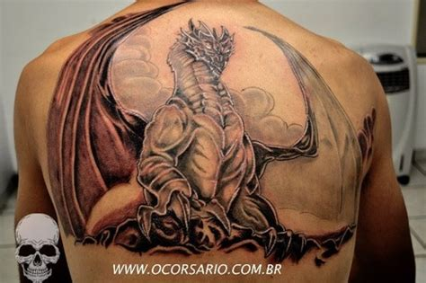 gothic dragon tattoo designs picture at checkoutmyink