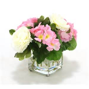 Round Vase With Flowers Indoor Flowers Buy Online Artificial Flowers On 1001shops