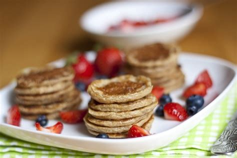 Oatmeal And Cottage Cheese Pancakes by Mini Oatmeal Banana Cottage Cheese Pancakes