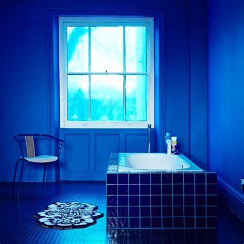indigo bathroom blue calming bathroom indigo blue colour schemes home