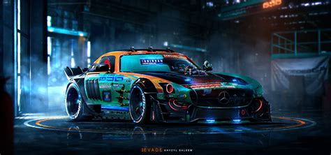 car concept design jobs this 21 year old is painting the most insane sci fi