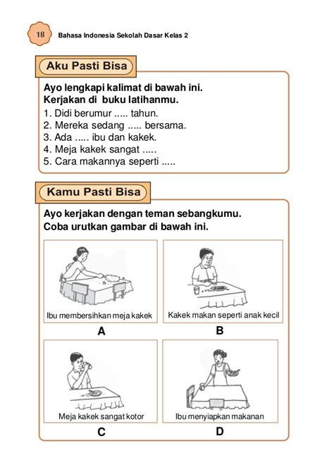 cara membuat kalimat opini dan fakta bahasa indonesia kelas 2