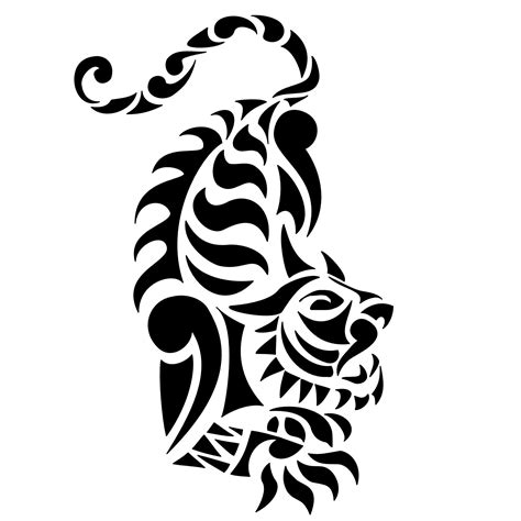 tiger with tribal tattoo tiger tattoos designs ideas and meaning tattoos for you