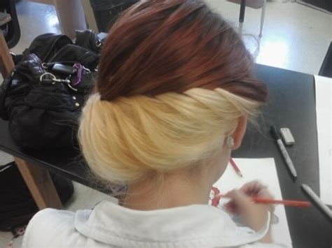 two colored hair 1000 ideas about underneath hair colors on