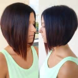 a line haircut ombre color 18 super hot stacked bob haircuts short hairstyles for