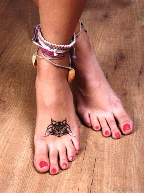 cat foot tattoo designs 54 sweet cat tattoos on foot
