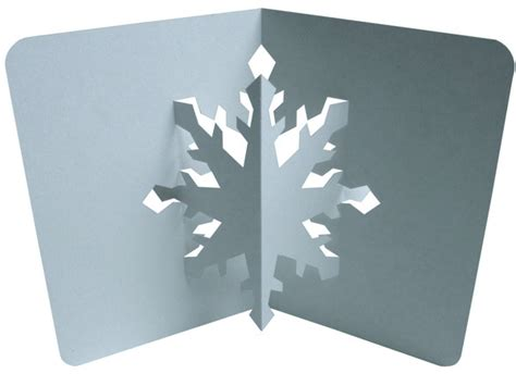 snowflake pop up card template search results for pop up card templates