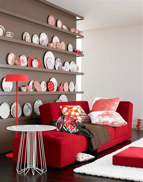 red home decor 10 reasons to decorate your home with bold colors 24 pics