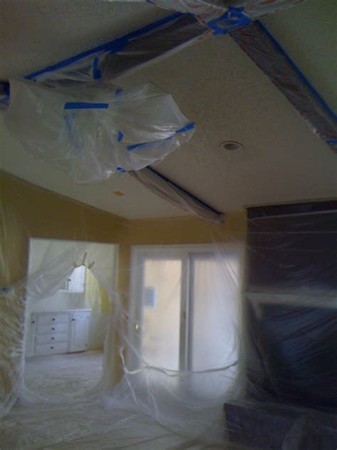 cost to paint a ceiling popcorn ceiling texture removal how much does it cost