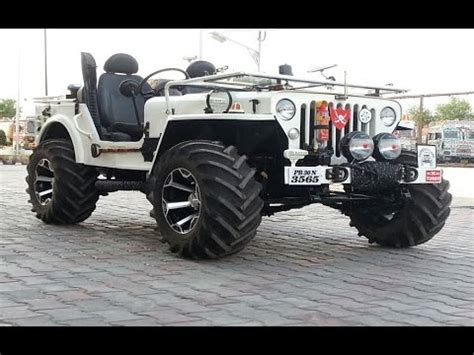 classic jeep modified indian offroads 4x4 custom modified jeeps mahindra classic