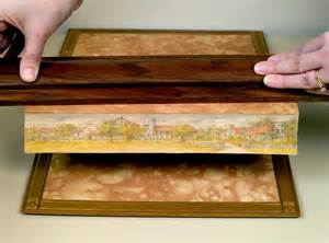 edge of books fore edge paintings grosvenor book room