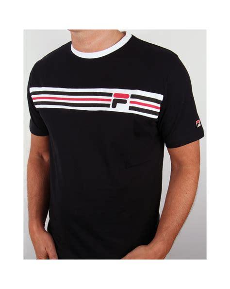 T Shirt Fila 2 fila vintage headband stripe t shirt black fila vandorno