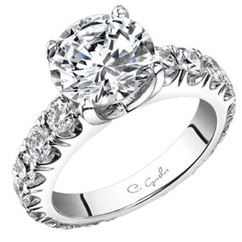 luxury engagement ring designers c gonshor designer engagement rings and wedding bands