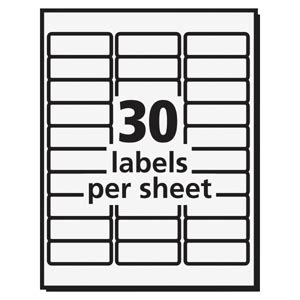 Avery Template 5979 by Avery 5979 Avery High Visibility Labels Ave5979 Ave