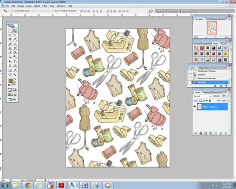 Make Your Own Scrapbook Paper - print on fabric using digital scrapbooking supplies