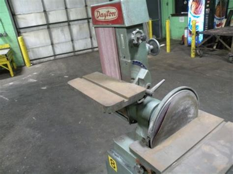 dayton  diskbelt grindersander tzsuppliescom