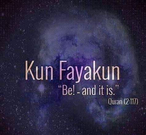 Asyifa An Nur Al Quran kun fayakun pinteres