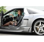 Hot NSX Hotter Chik  Honda Realm
