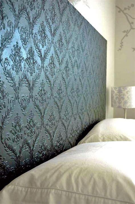25 best ideas about wallpaper headboard on