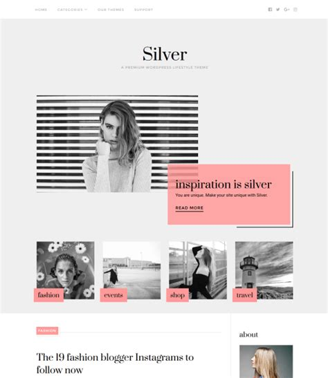 blog themes with ad space 5 of the best wordpress themes for fashion blogs down